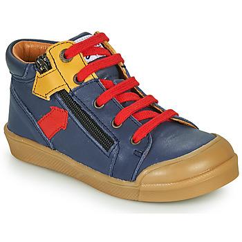 Cipők Fiú Magas szárú edzőcipők GBB IONNIS Kék