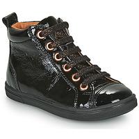 Cipők Lány Magas szárú edzőcipők GBB INNA Fekete