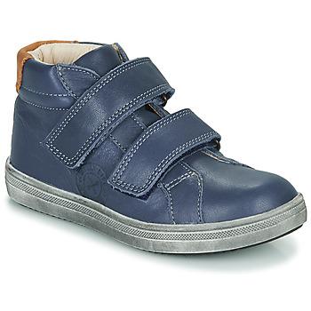 Cipők Fiú Magas szárú edzőcipők GBB NAZAIRE Kék