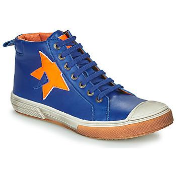 Cipők Fiú Magas szárú edzőcipők GBB OCALIAN Kék