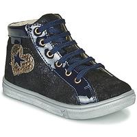 Cipők Lány Magas szárú edzőcipők GBB MARTA Kék
