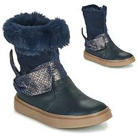 Cipők Lány Városi csizmák GBB EVELINA Kék