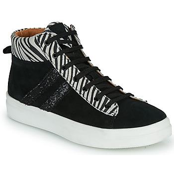 Cipők Lány Magas szárú edzőcipők GBB KIBEL Fekete