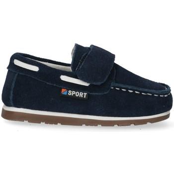 Cipők Fiú Mokkaszínek Bubble 48474 Kék