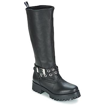 Cipők Női Városi csizmák Love Moschino GROGI Fekete