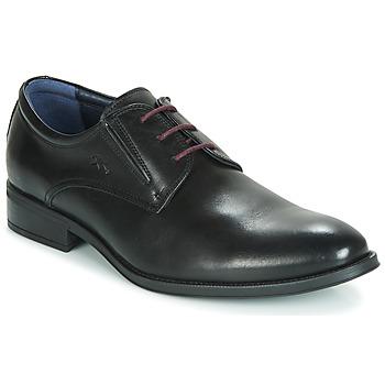 Cipők Férfi Oxford cipők Fluchos HERACLES Fekete