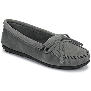 Cipők Női Mokkaszínek Minnetonka KILTY Szürke