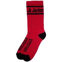 Textil kiegészítők Férfi Zoknik Jacker After logo socks Piros