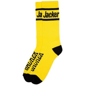 Textil kiegészítők Férfi Zoknik Jacker After logo socks Citromsárga
