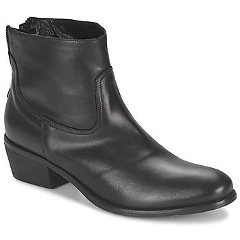 Cipők Női Csizmák Meline SOFMET Fekete