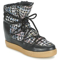Cipők Női Csizmák Meline DERNA Fekete