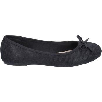 Cipők Női Balerina cipők  Sara Lopez balerina cipő BN506 Fekete