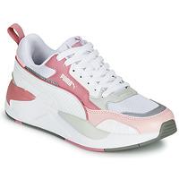 Cipők Női Rövid szárú edzőcipők Puma X-RAY 2 Fehér / Rózsaszín