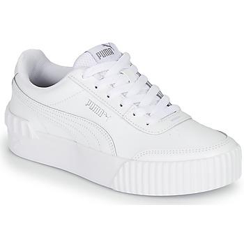 Cipők Női Rövid szárú edzőcipők Puma CARINA LIFT Fehér