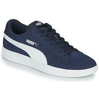 Cipők Férfi Rövid szárú edzőcipők Puma SMASH Tengerész