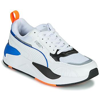Cipők Gyerek Rövid szárú edzőcipők Puma X-RAY Fehér / Kék / Fekete