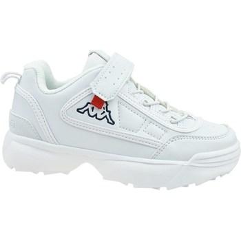 Cipők Gyerek Rövid szárú edzőcipők Kappa Rave NC K Białe