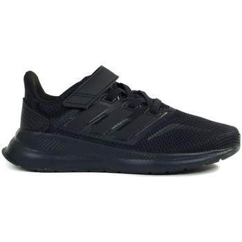 Cipők Gyerek Futócipők adidas Originals Runfalcon C Czarne