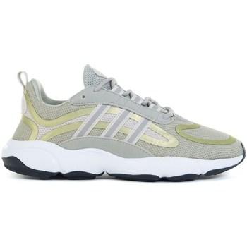 Cipők Gyerek Futócipők adidas Originals Haiwee J Zielone,Żółte