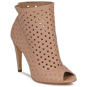Cipők Női Bokacsizmák Bourne RITA Bőrszínű