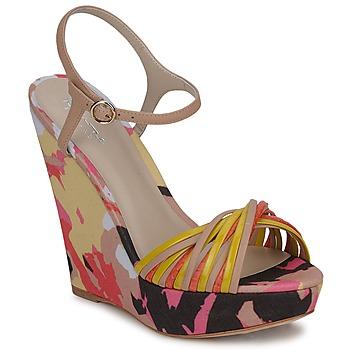 Cipők Női Szandálok / Saruk Bourne KARMEL Bézs / Sokszínű