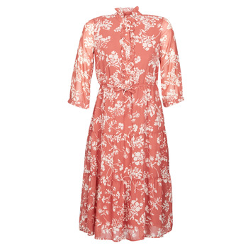 Ruhák Női Hosszú ruhák Vero Moda VMDINO Narancssárga