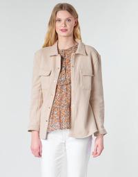 Ruhák Női Kabátok / Blézerek Betty London MOUCHE Bézs