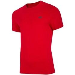 Ruhák Férfi Rövid ujjú pólók 4F TSM003 Piros