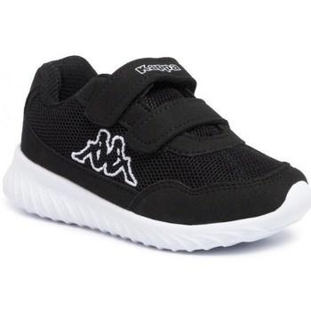 Cipők Férfi Rövid szárú edzőcipők Kappa Cracker II K Fekete