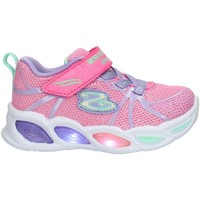 Cipők Gyerek Rövid szárú edzőcipők Skechers 302042 Pink