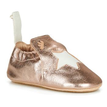 Cipők Gyerek Mamuszok Easy Peasy BLUBLU ETOILE Rózsaszín / Arany