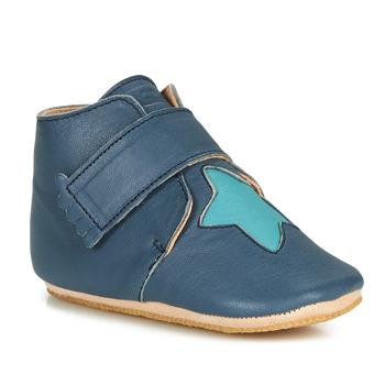 Cipők Gyerek Mamuszok Easy Peasy KINY ETOILE Kék