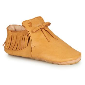 Cipők Gyerek Mamuszok Easy Peasy MEXIBLU Konyak