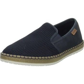 Cipők Férfi Belebújós cipők Rieker Slipper Kék