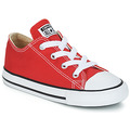 Cipők Gyerek Rövid szárú edzőcipők Converse CHUCK TAYLOR ALL STAR CORE OX Piros