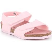 Cipők Gyerek Oxford cipők & Bokacipők Birkenstock Palu Kids Logo Rózsaszín