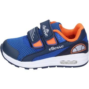 Cipők Fiú Rövid szárú edzőcipők Ellesse BN666 Kék