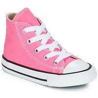 Cipők Gyerek Magas szárú edzőcipők Converse CHUCK TAYLOR ALL STAR CORE HI Rózsaszín