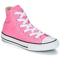 Cipők Lány Magas szárú edzőcipők Converse CHUCK TAYLOR ALL STAR CORE HI Rózsaszín