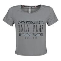 Ruhák Női Rövid ujjú pólók Only Play  Szürke