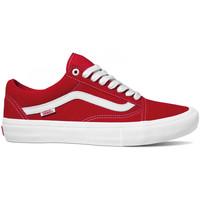 Cipők Férfi Deszkás cipők Vans Old skool pro Piros