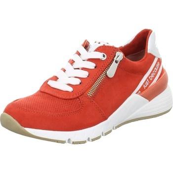 Cipők Női Rövid szárú edzőcipők Marco Tozzi 222373934621 Piros