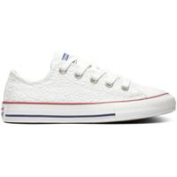 Cipők Gyerek Rövid szárú edzőcipők Converse Chuck taylor all star ox Fehér