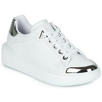 Cipők Női Rövid szárú edzőcipők Guess BRANDYN Fehér