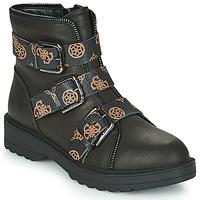 Cipők Női Csizmák Guess WENDY Fekete