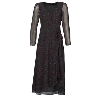 Ruhák Női Hosszú ruhák Ikks BR30225 Fekete