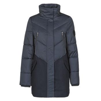 Ruhák Női Steppelt kabátok Ikks BR45015 Tengerész