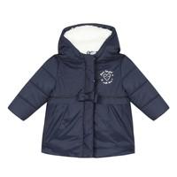 Ruhák Lány Steppelt kabátok 3 Pommes 3R42012-49 Tengerész