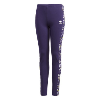 Ruhák Lány Legging-ek adidas Originals SOLID LEGGINGS Lila