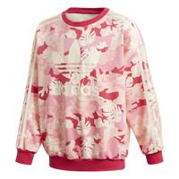 Ruhák Lány Pulóverek adidas Originals CREW Rózsaszín